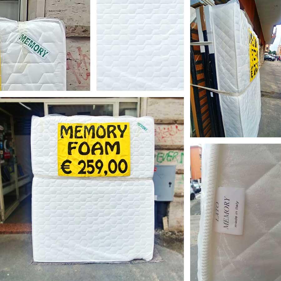 Offerte Materassi In Memory Foam.Offerta Materasso Lastra 7 Zone Sapsa